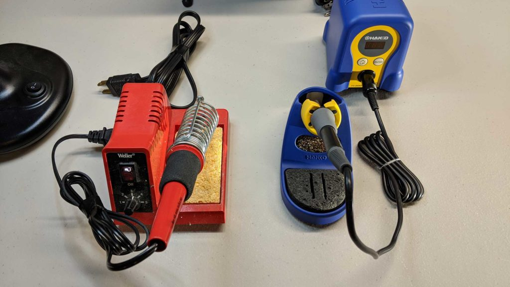 Upgraded to a Hakko FX888D!