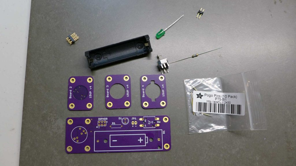 Circuit boards and components.